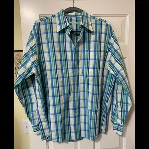 Southern Tide designer striped shirt L